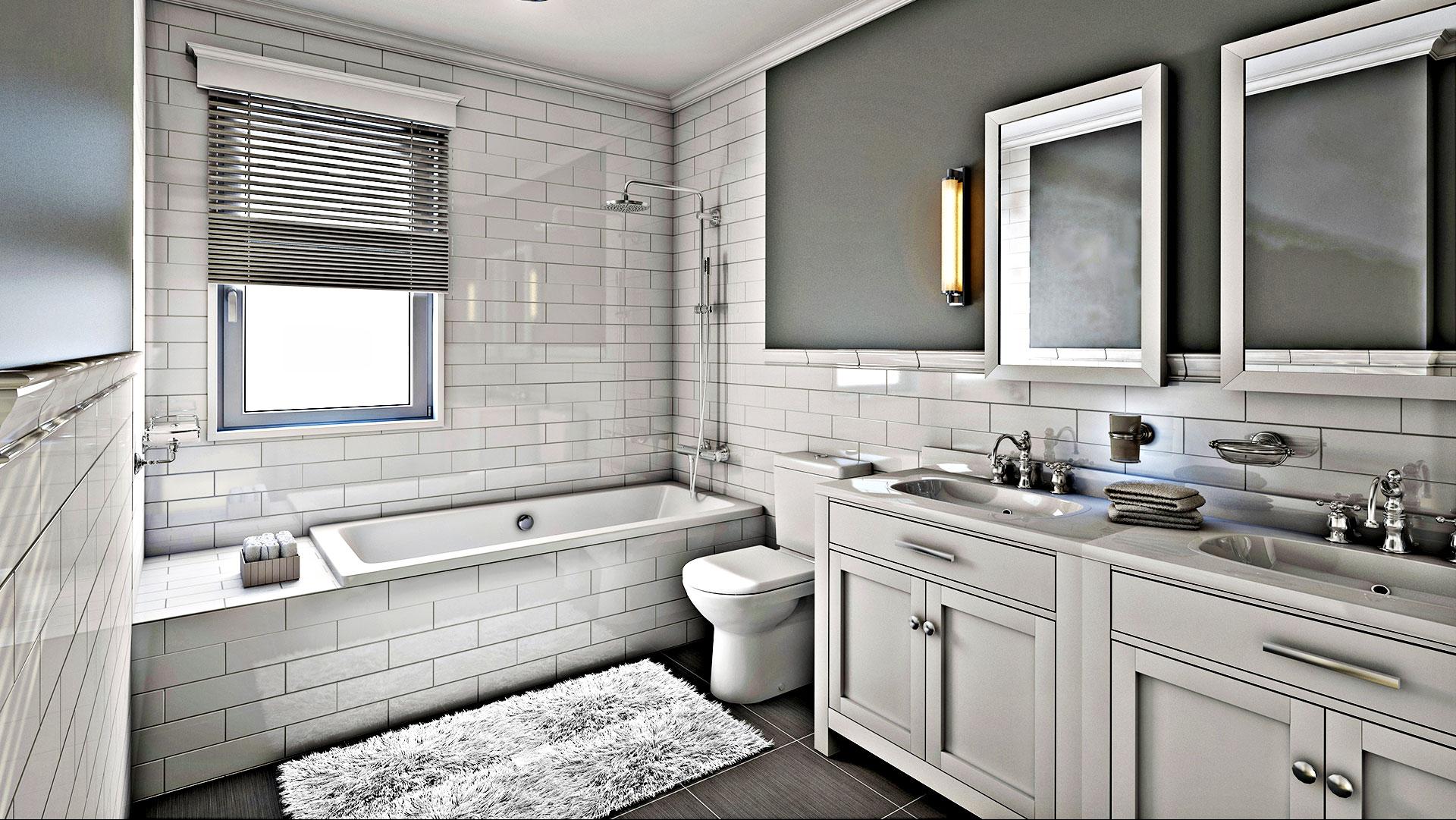 Remodeled Bathroom Home  Livingston Residential Remodeling Bathroom Remodeling And .